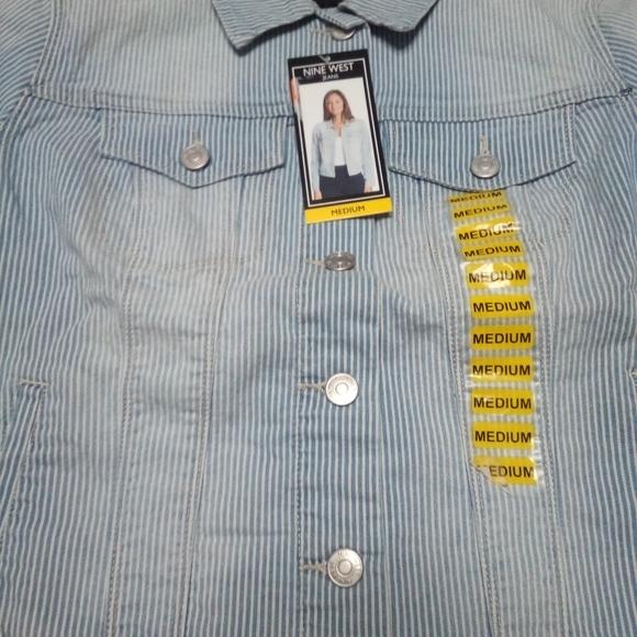 Brand New Nine West Jean Jackets